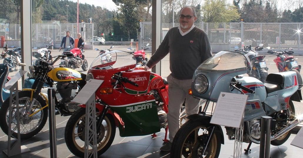 Livio Lodi: Coltivo la memoria e la storia di Ducati