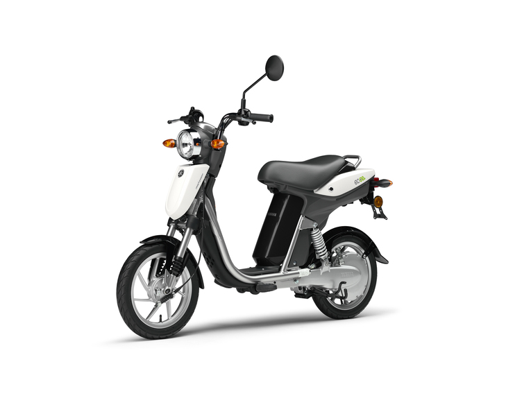 scooter elettrico yamaha ec 03 news. Black Bedroom Furniture Sets. Home Design Ideas