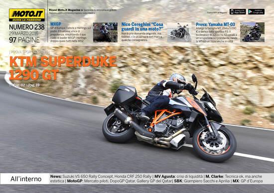 Magazine n°238, scarica e leggi il meglio di Moto.it