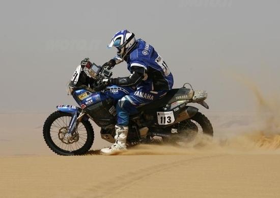 Catanese stupisce al Pharaons Rally sulla Yamaha Super Ténéré