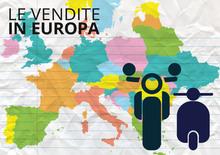 Le vendite in Italia tirano il mercato europeo