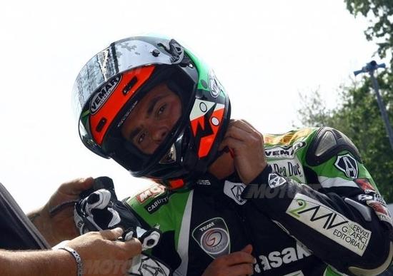 Nico Vivarelli alla 200 Miglia di Daytona
