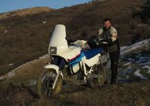 Gionata Nencini, Partireper: la mia Honda Transalp XL600V AT da viaggio