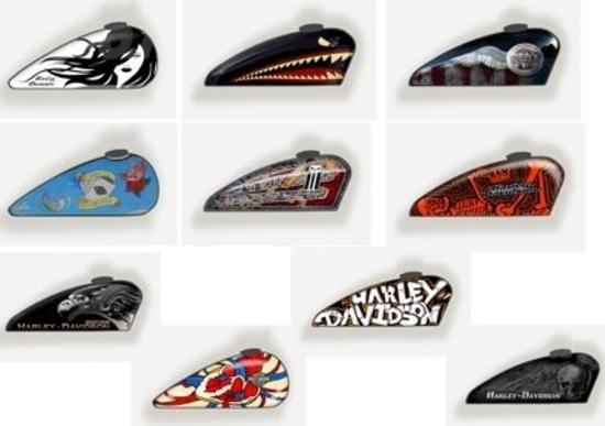 Concorso Harley-Davidson Art of Custom: i finalisti