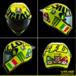 MotoGP. Il Casco di Rossi edizione speciale Mugello 2016