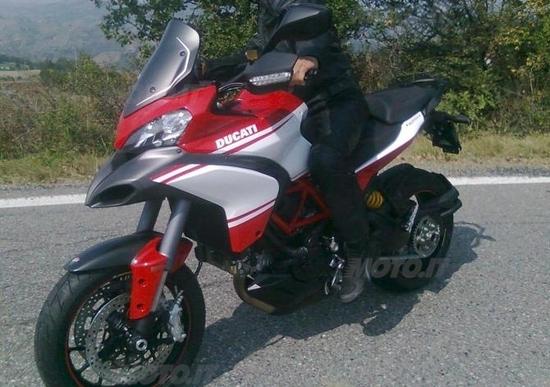 La nuova Ducati Multistrada 1200 2013