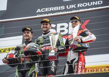 SBK 2016. GP del Regno Unito. Doppietta di Sykes a Donington