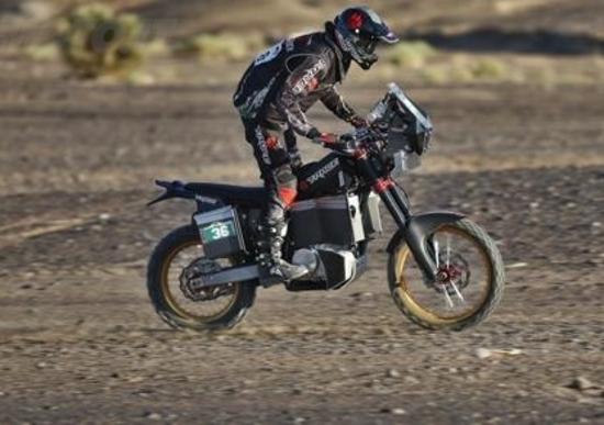 Tacita T-Race, la moto da Rally a propulsione elettrica