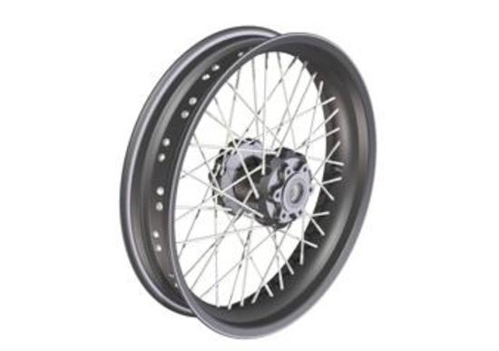 Millepercento presenta i cerchi a raggi Borrani per Moto Guzzi California 1400