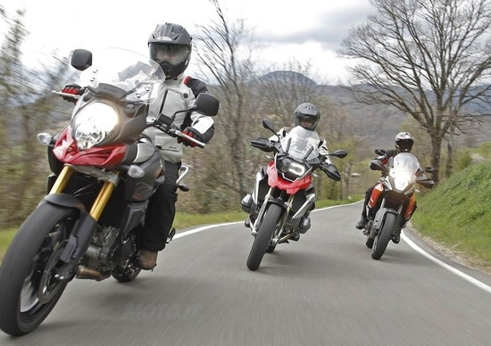 BMW R1200GS VS KTM 1190 Adventure VS Suzuki V-Strom 1000