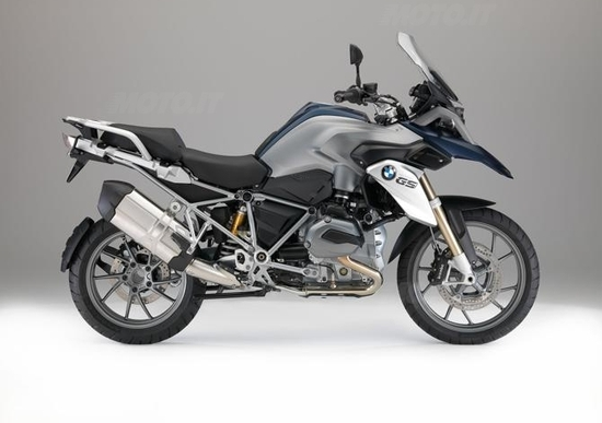 Nuove BMW R1200GS e Adventure 2015