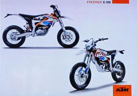KTM 2015: arriva la Freeride E-SM