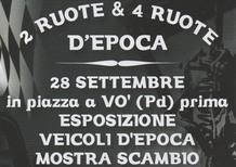 Due e quattro ruote d'epoca. Il 28 settembre a Padova