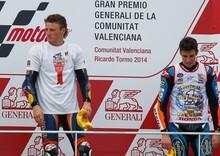 Luthi e Miller vincono Moto2 e Moto3 a Valencia