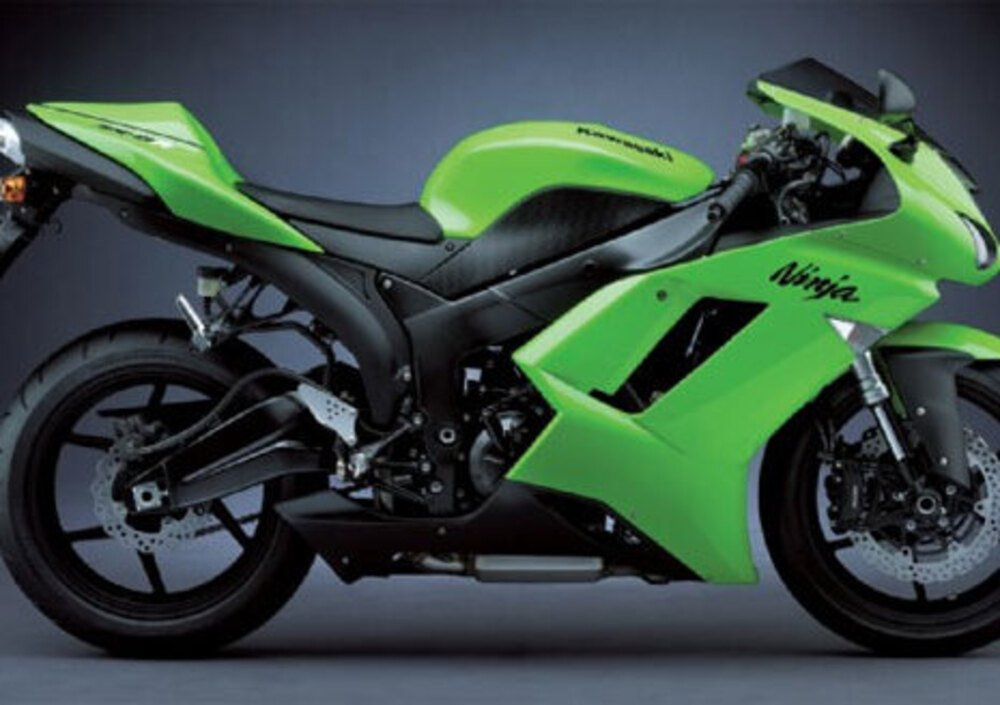 kawasaki ninja 600 zx 6r 2007 08 prezzo e scheda tecnica. Black Bedroom Furniture Sets. Home Design Ideas