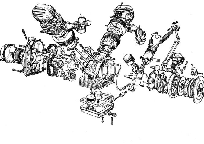 massimo clarke   u0026quot i motori v2 trasversali  guzzi e non solo