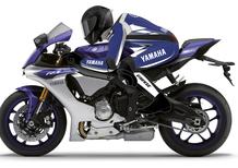 Dainese presenta la nuova tuta D-Air Racing con grafica Yamaha