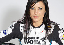 Melissa Paris al via della Supersport MotoAmerica