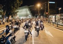 Giovedì 7 luglio, 5° Triumph Milano City Tour
