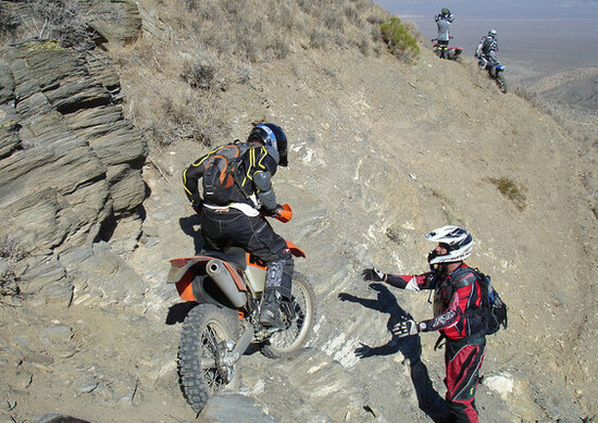 Ride in the USA. L'off road nei parchi californiani