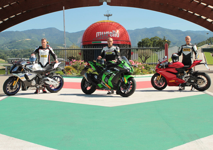 Kawasaki ZX-10R Ninja vs Yamaha YZF-R1M vs Ducati 1299S Panigale