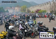 A Trento benedizione delle moto e Honda Live Tour