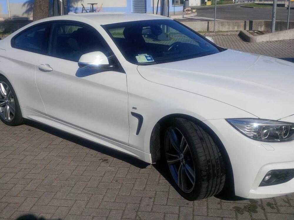 BMW Serie 4 Coupé 420d  Msport del 2013 usata a Padova