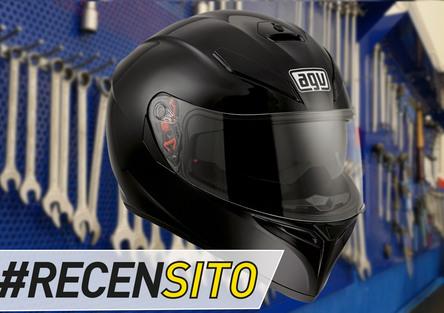 AGV K5. Recensito casco sportivo con sun visor