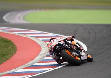 MotoGP. FP3 del GP d'Argentina. Marquez, Crutchlow e Aleix Espargaro