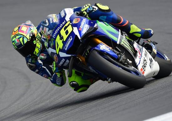 MotoGp Austria, Rossi e Lorenzo:
