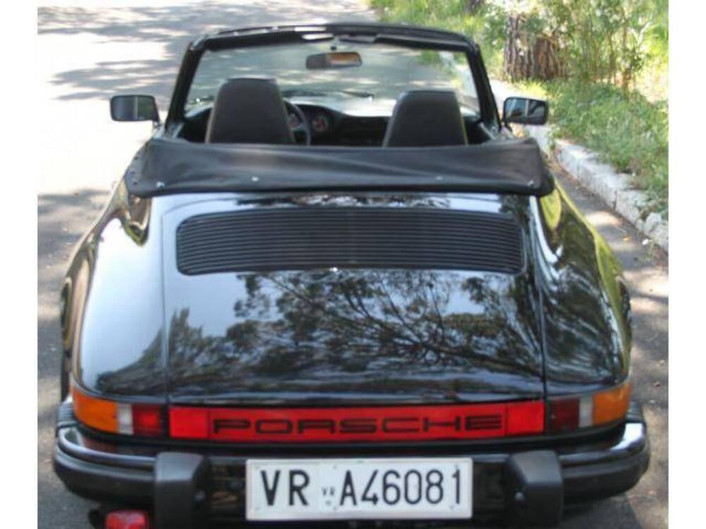 Porsche 911 Cabrio SC 3.0 del 1985 usata a Roma