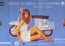 Domenica 7 giugno: Milano da Vedere in Lambretta