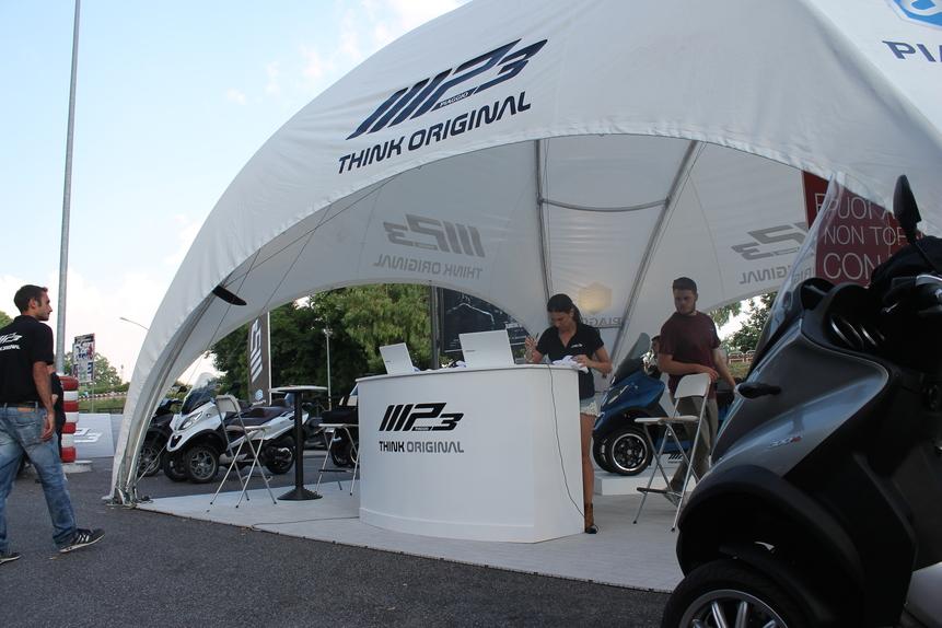 Piaggio MP3 a Roma: test ride fino a domenica - News - Moto.it