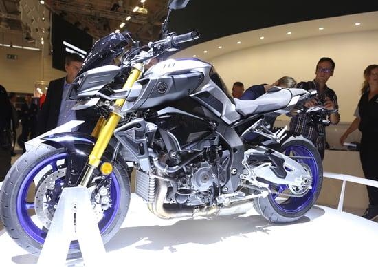 Yamaha MT-10SP 2017 a Intermot 2016