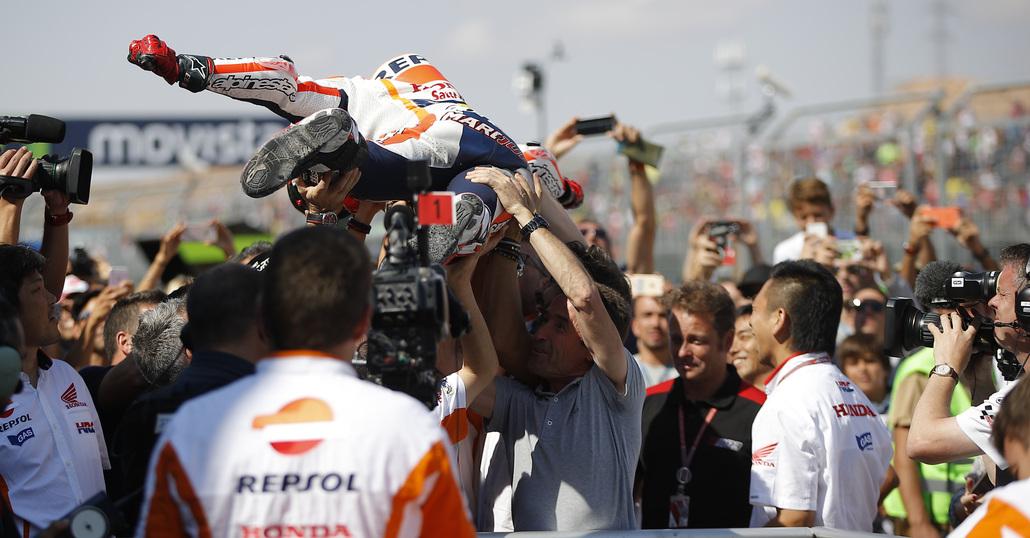 MotoGP 2016, Marc Marquez campionissimo: i commenti di Lorenzo e Valentino Rossi