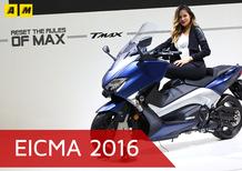 Yamaha TMAX 2017 a EICMA 2016: video