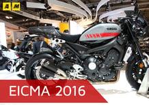 Yamaha XSR900 Abarth a EICMA 2016: video