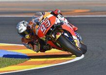 MotoGP. Marquez si aggiudica le FP3 a Valencia