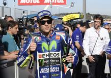 MotoGP. Rossi: In difficoltà quando calano le gomme