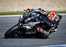 SBK. Rea chiude con il botto i test di Jerez