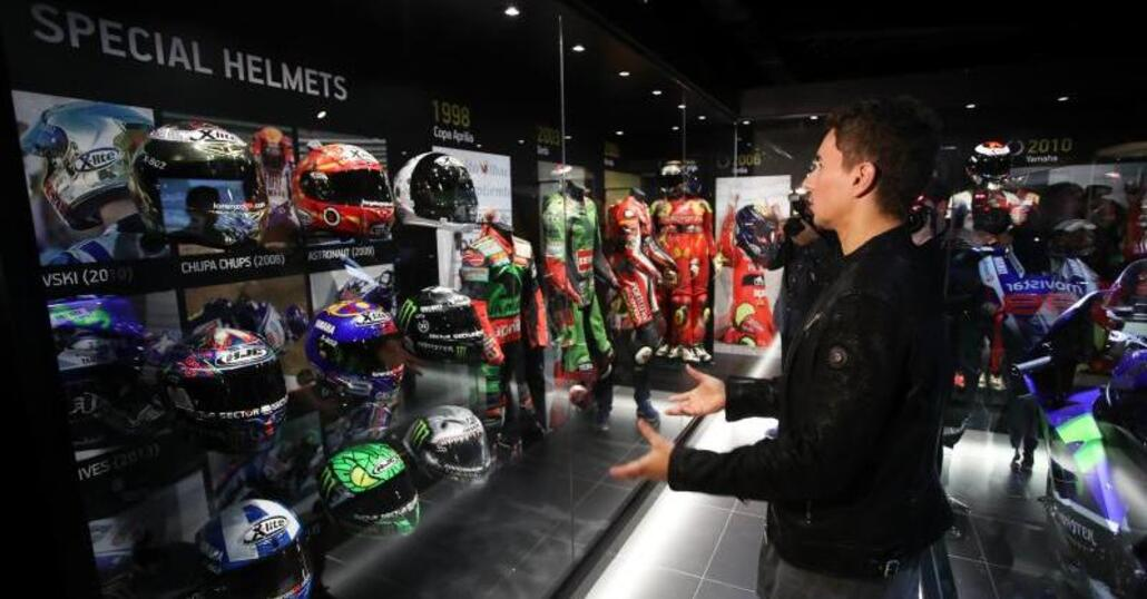 MotoGP. Ad Andorra inaugurato il museo di Jorge Lorenzo