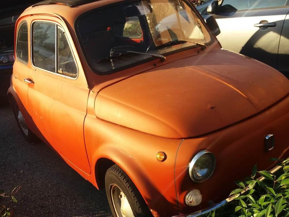 500 R d'epoca del 1975 a Savignone