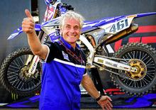 Yamaha e Rinaldi, 25 anni di grande Motocross