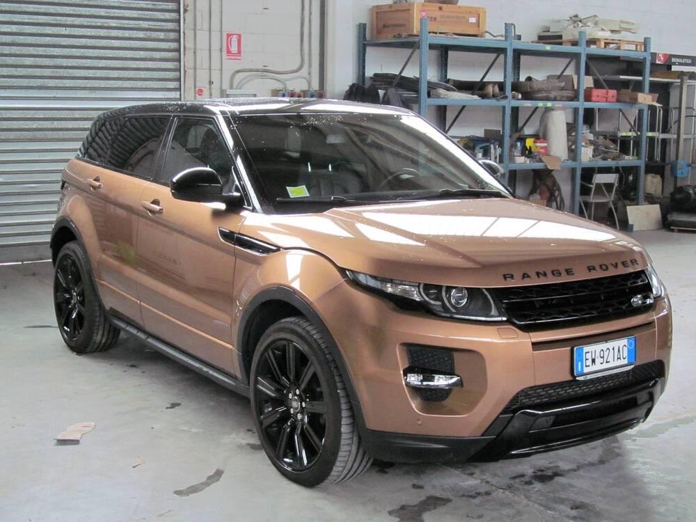 Land Rover Range Rover Evoque 2.2 SD4 5p. Dynamic Launch Edition del 2014 usata a Donnas usata