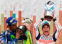 MotoGP. Rossi il più premiato, Márquez il migliore