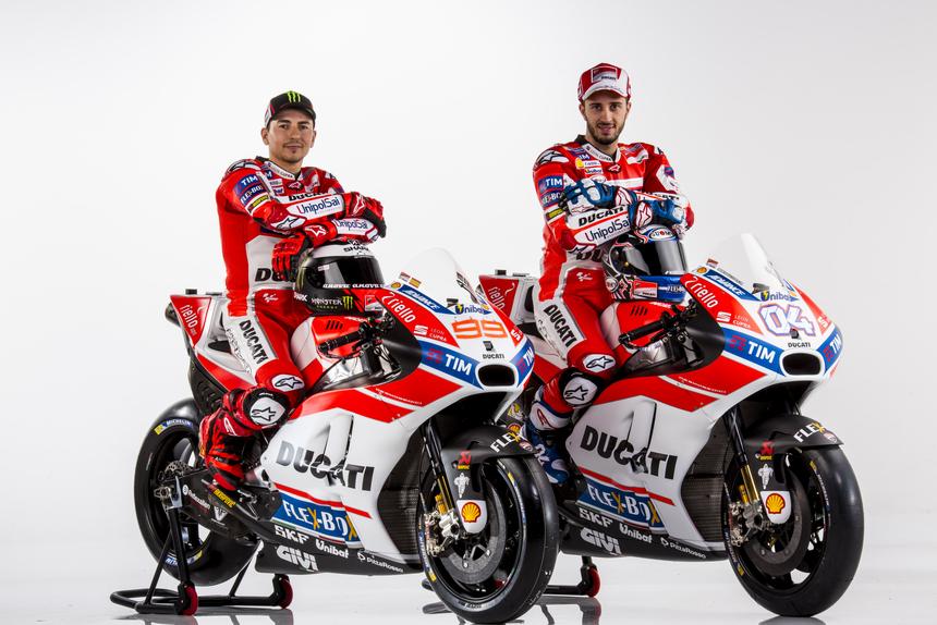 MotoGP. Tutte le foto ufficiali del team Ducati 2017 (2)