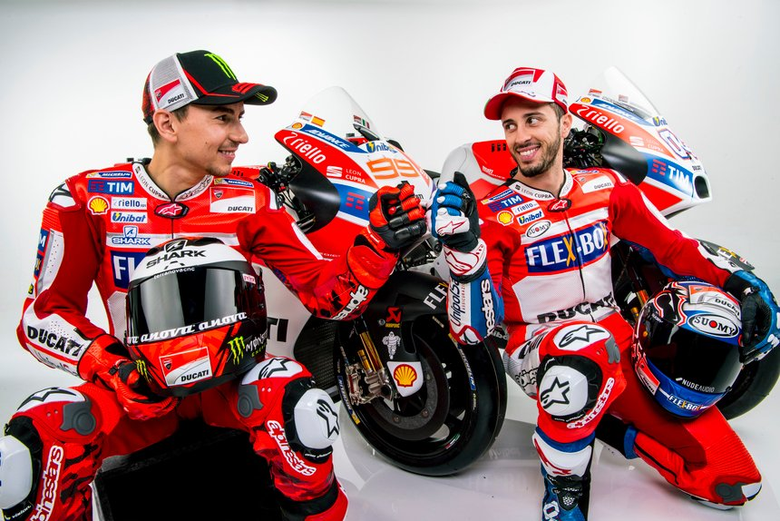 MotoGP. Tutte le foto ufficiali del team Ducati 2017
