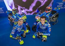 MotoGP. La presentazione del team Suzuki