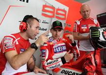MotoGP. Ducati: Lorenzo si avvicina, Dovizioso contento