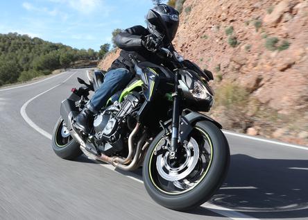 Kawasaki Z900  2017. La serie infernale